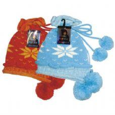 24 Units of Winter Knit Hat w/ Pom Pom HQ