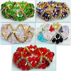 60 Units of crystal Bracelet jewelry - Bracelets