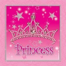 144 Units of Princess Lunch Napkin 16CT