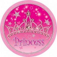 "144 Units of Princess 7""' Plate 8CT"