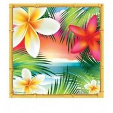 144 Units of Tropical Paradise Lunch Napkin 16 Ct