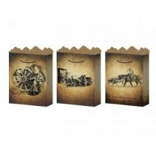 288 Units of G-Bag Medium Mat Old West 3 Styles
