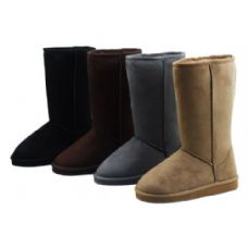 12 Units of Ladies Boots Assorted Colors - Women's Boots