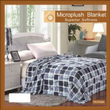 12 Units of MicroPlush Blanket Superior Blanket Queen Size
