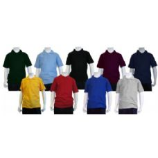 24 Units of Boys School Uniform Polo Shirt - Boys School Uniforms