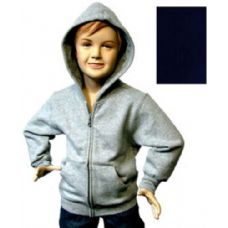 12 Units of Boys 4-7 Full-Zip Hooded Fleece - Winterwear/ Apparel