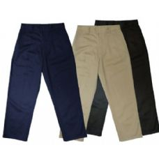 24 Units of Boys 10 - 20 Husky School Twill Pant - Boys School Uniforms