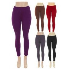 120 Units of Ladies Winter Warm Fleece Legging - Womens Leggings