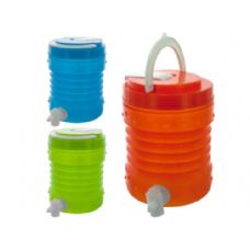 36 Units of 1.5 liter drink container (green, orange or blue)