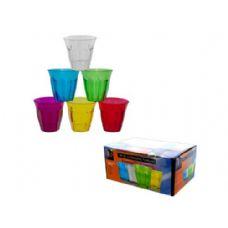 12 Units of 12 Pack Plastic Tumblers - Drinkware