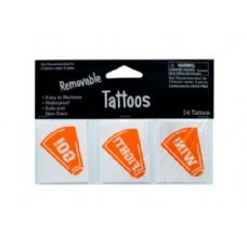 144 Units of 24pk org tattoos 040282 - Tattoos and Stickers