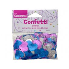 144 Units of bride confetti wm023029 - Streamers & Confetti