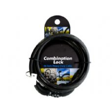 24 Units of combination cable lock