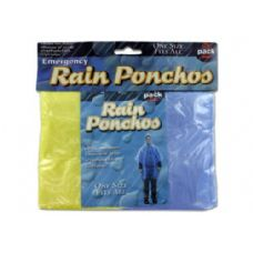 72 Units of Emergency rain ponchos - Umbrellas & Rain Gear