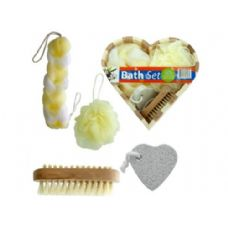 12 Units of Heart Boxed Bath Gift Set