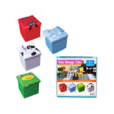 12 Units of Kids Fabric Storage Cube