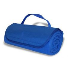 36 Units of Roll-Up Blankets Royal Blue Color