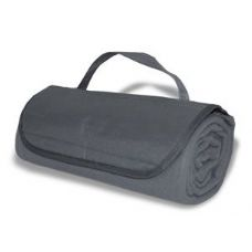 36 Units of Roll-Up Blankets Grey Color