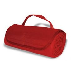 36 Units of Roll-Up Blankets Red Color