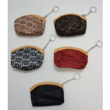 36 Units of Zippered Coin Purse [Lines] - Leather Purses and Handbags