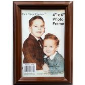 48 Units of Plastic 4 x 6 Picture Frame Brown - Picture Frames