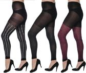 36 Units of Women One Size Leggings - Womens Leggings