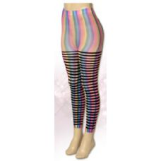 36 Units of One Size Women Rainbow Leggings - Womens Leggings