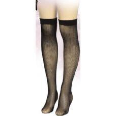 36 Units of Ladies Black Printed Knee High