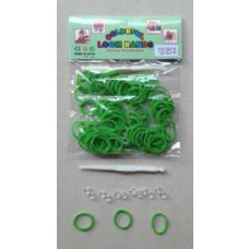 144 Units of 100pk Loom Bands [LIME] - Bracelets