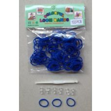 144 Units of 100pk Loom Bands [ROYAL BLUE - Bracelets