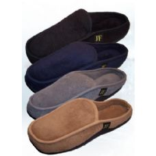24 Units of Bertelli Men's Slide-In Slippers