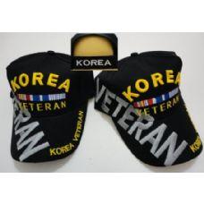 24 Units of Korea Veteran [Large Letters] - Military Caps