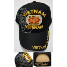 24 Units of VIETNAM VETERAN Hat 1959-1975 [Eagle] - Military Caps