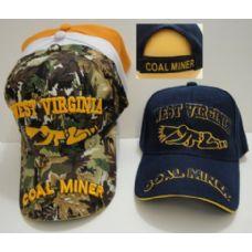 24 Units of West Virginia-Coal Miner - Military Caps