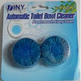 72 Units of Automatic Toilet Bowl Cleaner 2 Pack Blue  Drop Ins