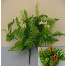 144 Units of  9 Stem Silk Flower - Artificial Flowers