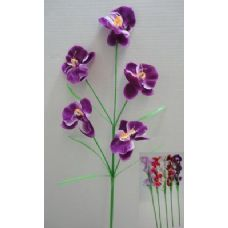 "144 Units of 35"" 5 Head Orchid - Artificial Flowers"