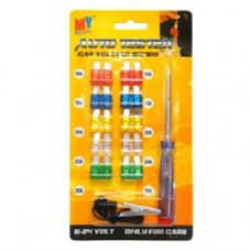 48 Units of Auto Fuse 10PK & Voltage Tester