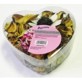 36 Units of Potpourri in Heart Shaped Package