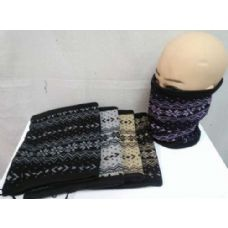 48 Units of Neck warmer/ Hat/ Mask, flower style - Winter Scarves