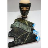 12 Units of Wrap Around Face Mask [Hardwoods Camo] - Face Ski Masks Unisex
