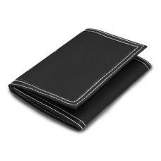 48 Units of LB Classic Tri-Fold Wallet - Black Color - Leather Purses and Handbags