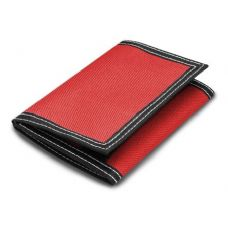 48 Units of LB Classic Tri-Fold Wallet - Red Color - Leather Purses and Handbags