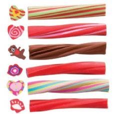 360 Units of Heart Twist Stick Eraser - ERASERS