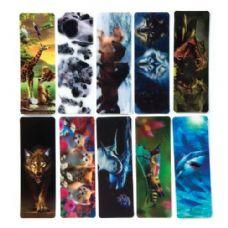 100 Units of 3D Lenticular Bookmark - BOOK ACCESSORIES