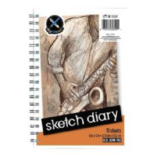 24 Units of 6-in x 9-in Sketch Diary - Notebooks