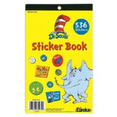 24 Units of Dr Seuss Sticker Book - Stickers