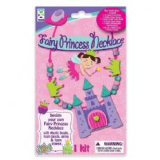 48 Units of Fairy Princess Necklace Foam Craft Kit - Craft Kits