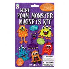 96 Units of Mini Foam Monster Magnets Kit