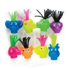 200 Units of Mini Zany Pencil Topper - Pencil Grippers / Toppers